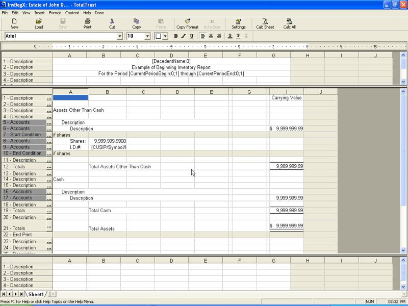 use our spreadsheet style editor